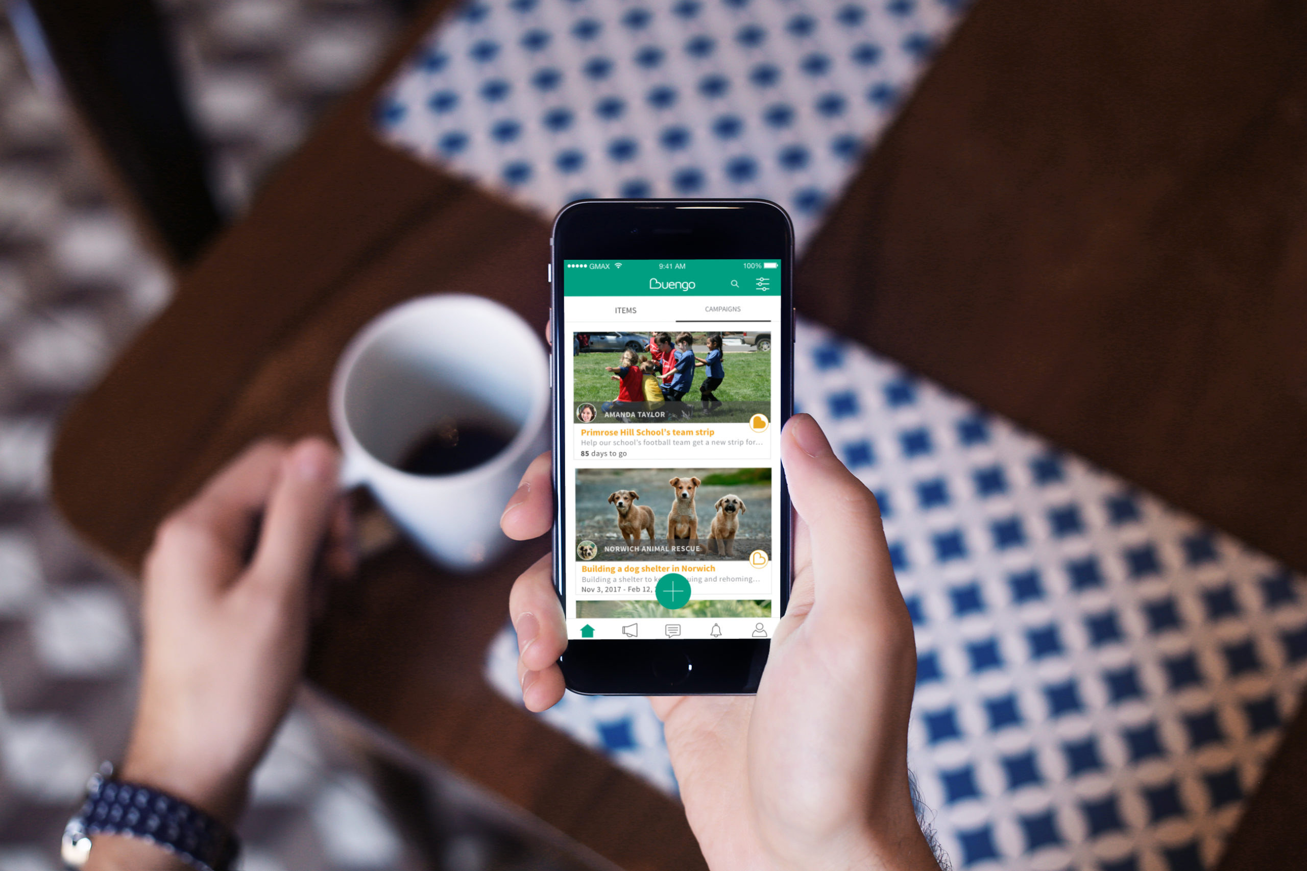 Beungo App - Virtual Charity Shop