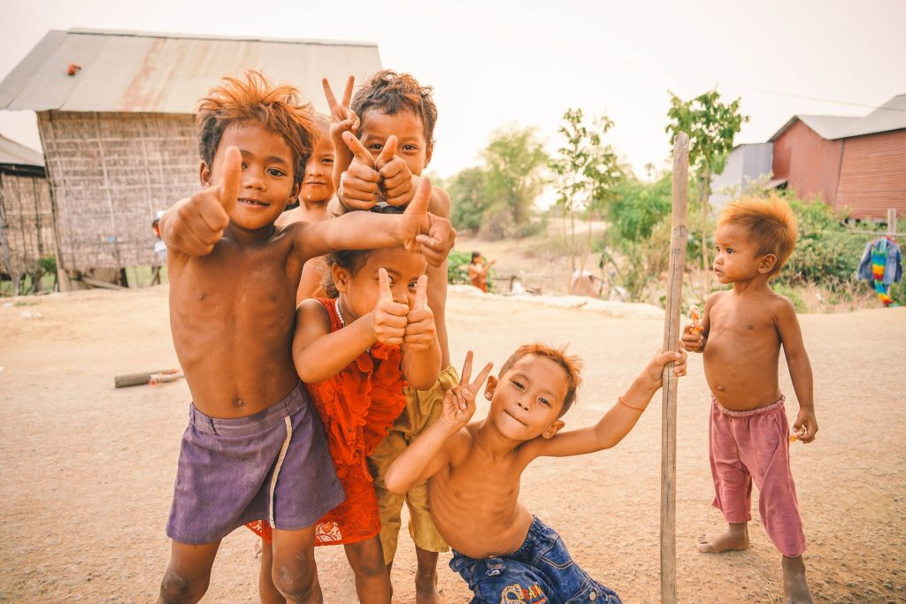 Street Children in Cambodia