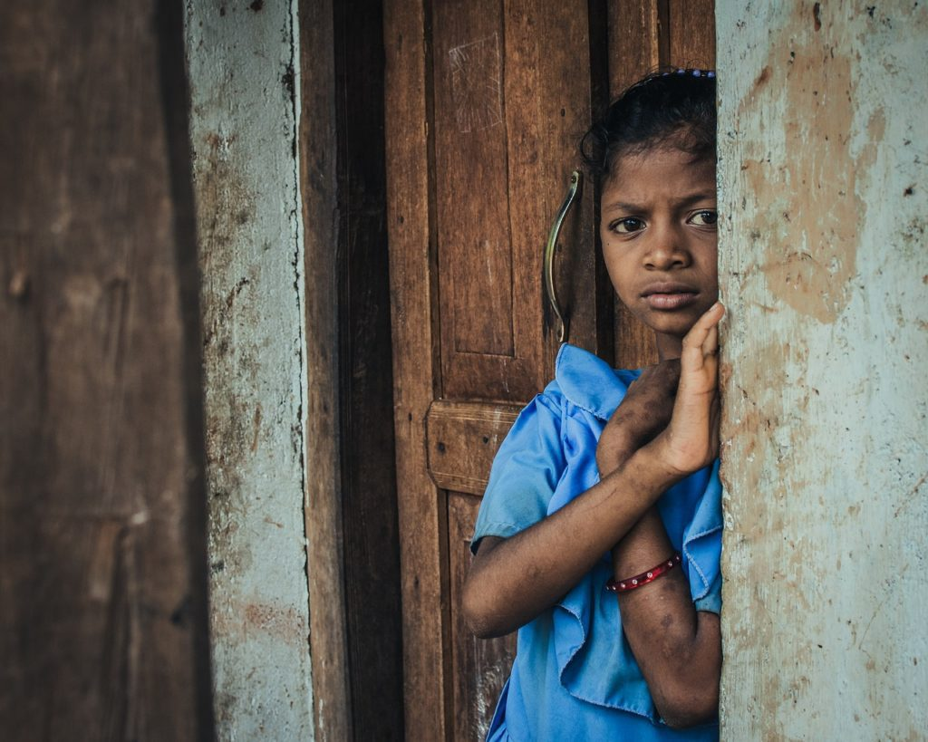 Female child poverty in India